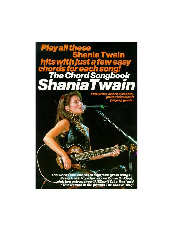 The Chord Songbook Shania Twain Lyrics Chords Sheet Music