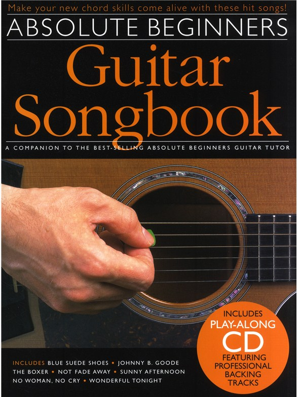 Absolute Beginners Guitar Songbook Guitar Sheet Music