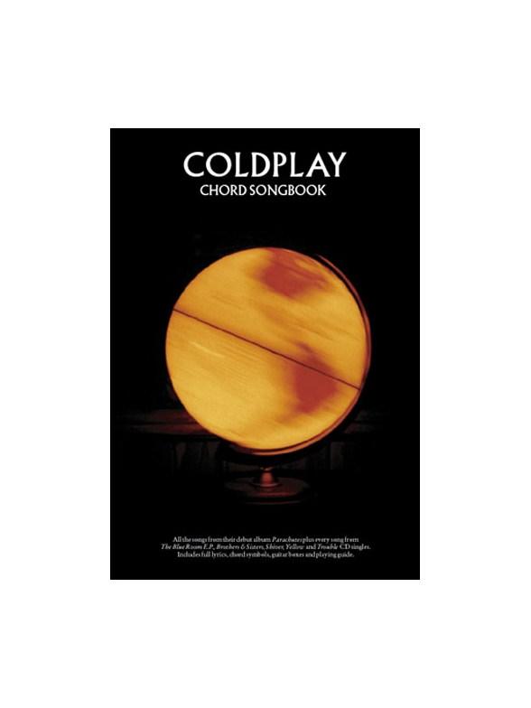 Coldplay Parachutes Chord Songbook Lyrics Chords Sheet Music