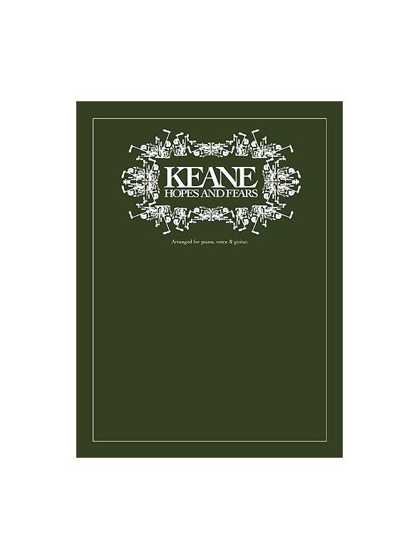 Livres de chansons Keane - Partition Keane - Tablatures Keane