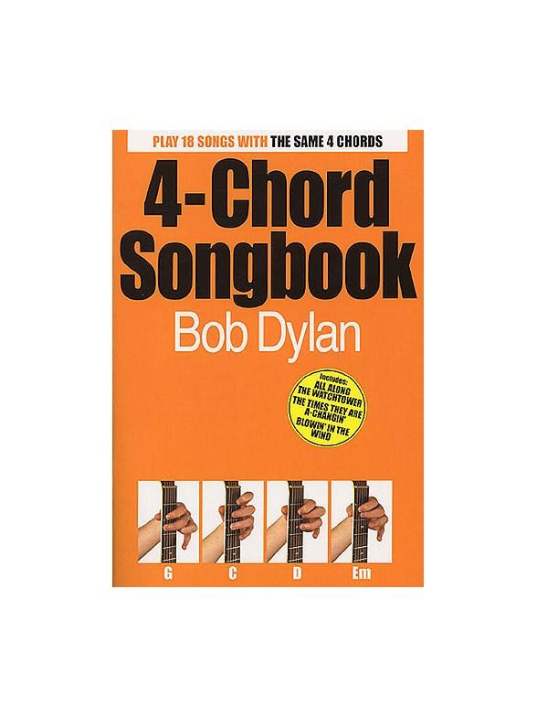 4-Chord Songbook: Bob Dylan - Lyrics & Chords Sheet Music - Sheet ...