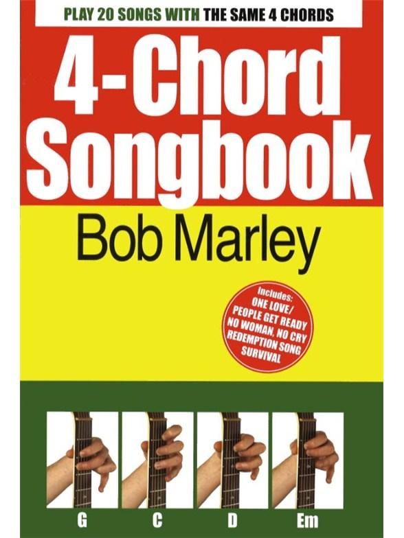 4-Chord Songbook: Bob Marley - Guitar Sheet Music - Sheet Music ...