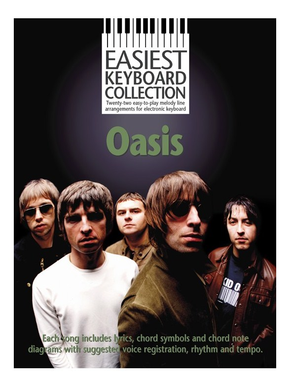 Livres de chansons Oasis - Partition Oasis - Tablatures Oasis