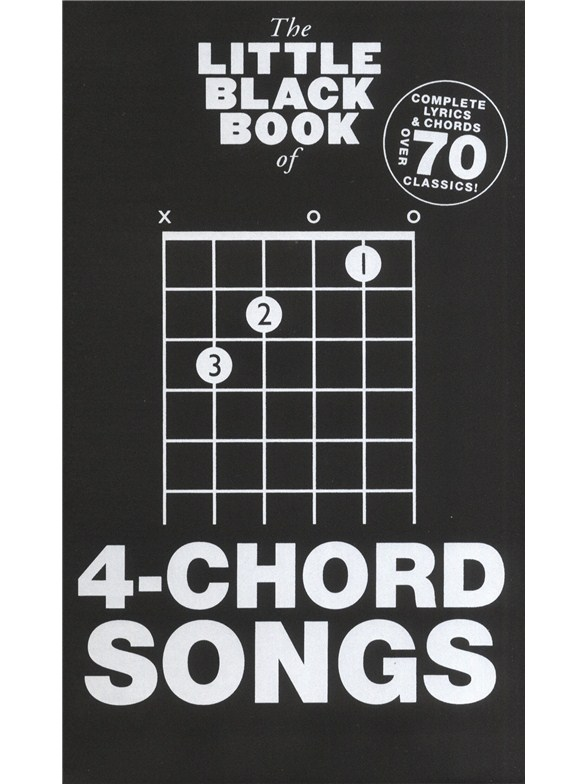 The Little Black Songbook: 4-Chord Songs - Guitar Sheet Music ...