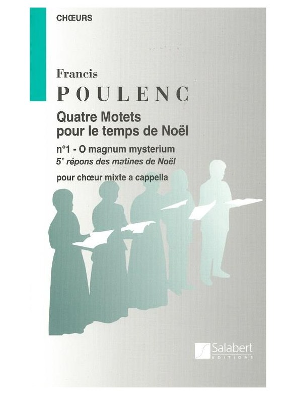 Click to view product details and reviews for Francis Poulenc O Magnum Mysterium Satb.