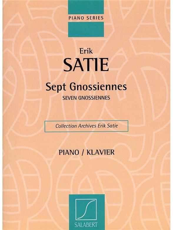 erik satie gnossienne no 1 sheet music pdf