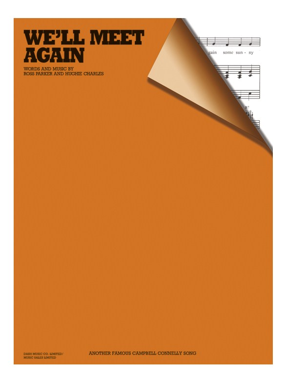maybe someday well meet again sheet music