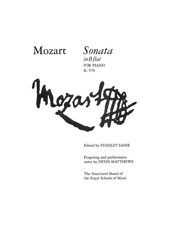 mozart sonata k 570 Mozart (1756-1791) piano sonata no17 in bb major, k570 i allegro 00:00 ii adagio 06:30 iii allegretto 15:07 alicia de larrocha (piano) recorded: 1990, n.