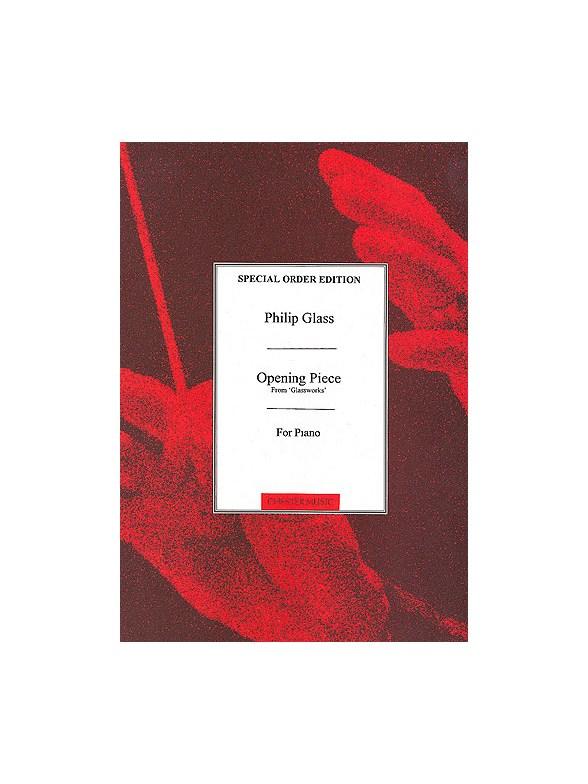 Buy Philip Glass Sheet Music Glass Philip Music Scores