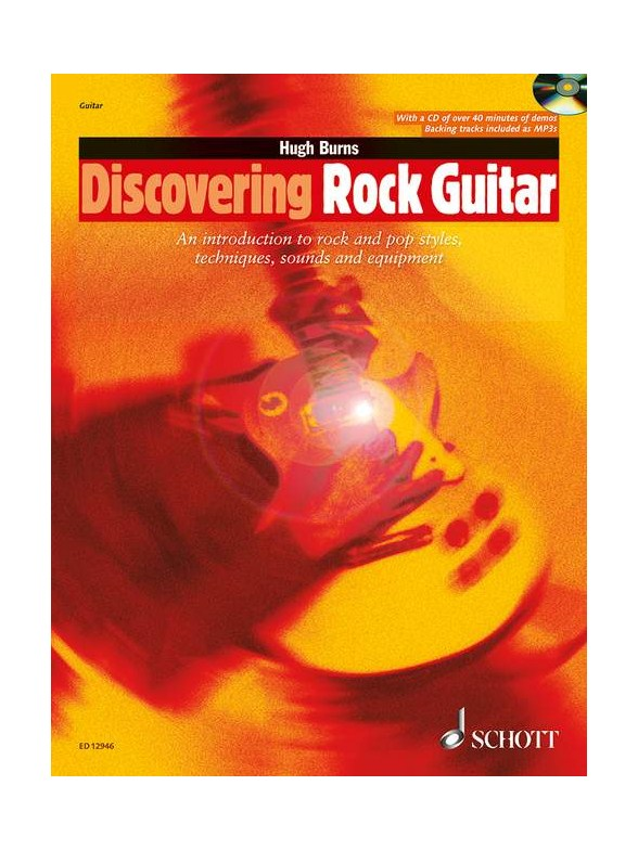 Click to view product details and reviews for Hugh Burns Discovering Rock Guitar Book And Cd.
