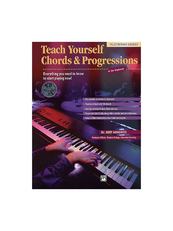 Teach Yourself Chords And Progressions Bookcd Keyboard Books
