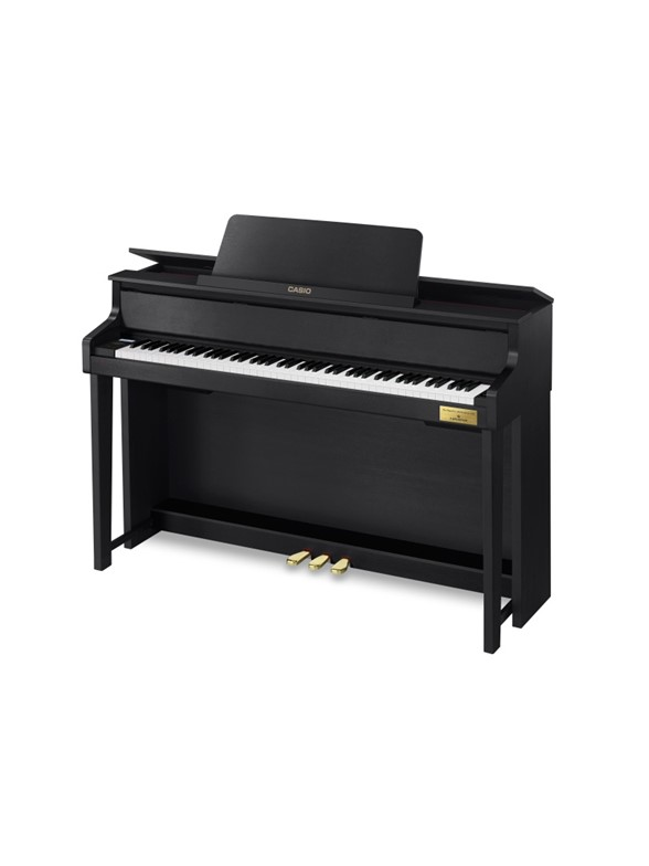 Casio: Celviano GP300 Grand Hybrid Piano In Association With C. Bechstein - Black
