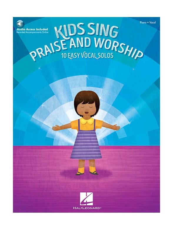 Sheet Music : Kids Sing Praise And Worship: 10 Easy Vocal