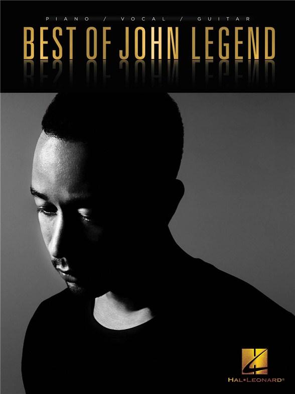 Best Of John Legend Pvg Piano Vocal Guitar Sheet Music