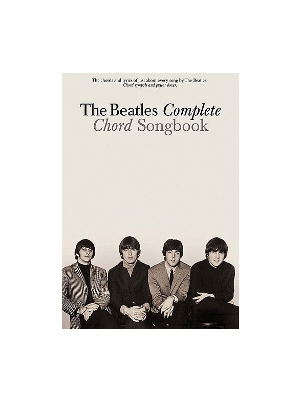 The Beatles Complete Chord Songbook - Lyrics & Chords Sheet Music ...