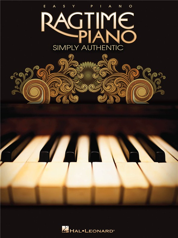 Simple ragtime piano
