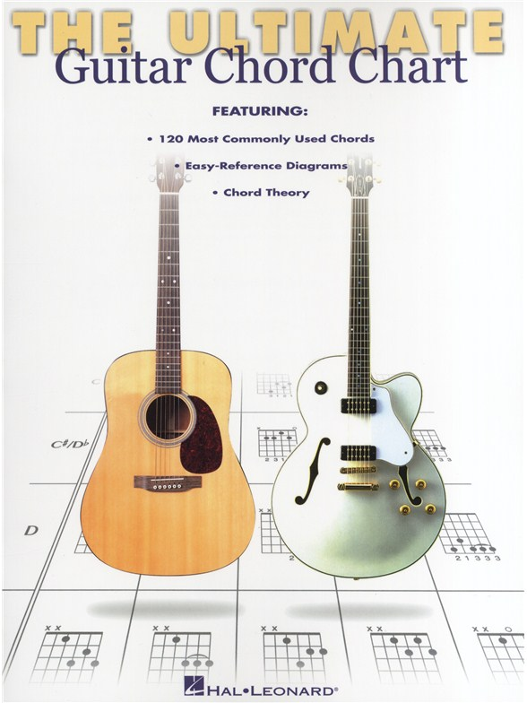 Ultimate Guitar Chord Chart Guitar Books Tuition Musicroom
