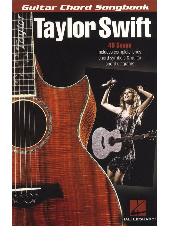 Taylor Swift Guitar Chord Songbook Lyrics Chords Sheet Music