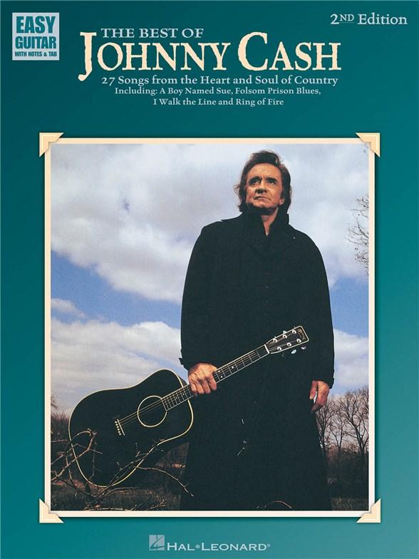 Livres de chansons Johnny Cash - Partition Johnny Cash - Tablatures ...