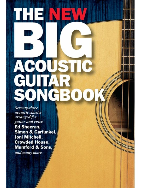 The New Big Acoustic Guitar Songbook - Guitar Sheet Music - Sheet ...