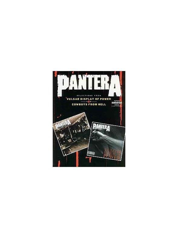 Pantera: Selections From Vulgar Display Of Power And Cowboys From ...