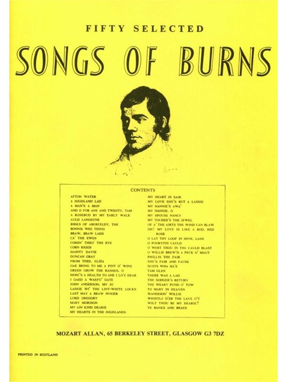 Click to view product details and reviews for Fifty Selected Songs Of Burns.