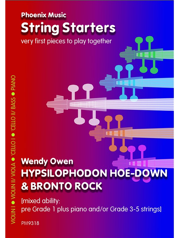 Click to view product details and reviews for Wendy Owen Hypsilophodon Hoedown And Bronto Rock Mixed Ability Strings.