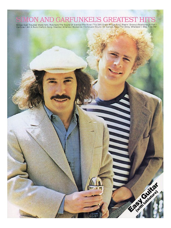 Simon And Garfunkels Greatest Hits Easy Guitar Guitar Tab Sheet