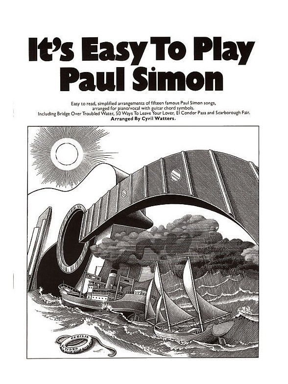 Its Easy To Play Paul Simon Piano Vocal Guitar Sheet Music