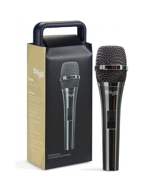 Click to view product details and reviews for Stagg Pro Cardioid Electret Condenser Microphone With Cartridge Cc32.