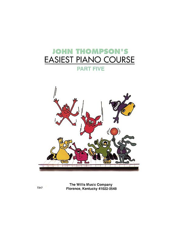 John Thompson's Easiest Piano Course: Part 5 (Revised Edition)