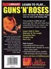 Lick Library: Learn To Play Guns N' Roses