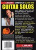 Lick Library: Learn To Play Classic Rock Guitar Solos Volume 3
