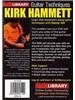 Lick Library: Kirk Hammett Guitar Techniques