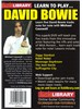 Lick Library: Learn To Play David Bowie
