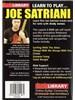 Lick Library: Learn To Play Joe Satriani (2 DVD)