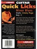 Lick Library: Quick Licks For Guitar - Jimmy Page - Minor Blues Key Of C (DVD)