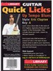 Lick Library: Quick Licks For Guitar - Eric Clapton Up Tempo Blues (DVD)