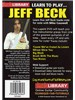 Lick Library: Learn to Play Jeff Beck 2 DVD Set