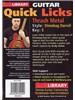 Lick Library: Quick Licks - Dimebag Darrell Thrash Metal