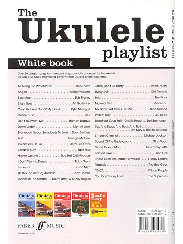 The Ukulele Playlist White Book Ukulele Sheet Music Sheet Music