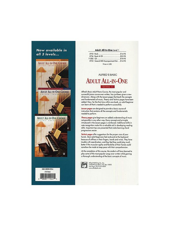 alfred s adult all in one piano course