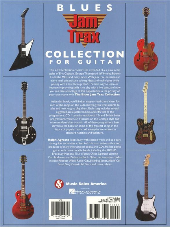Ralph Agresta: Blues Jam Trax Collection For Guitar - Guitar Sheet ...