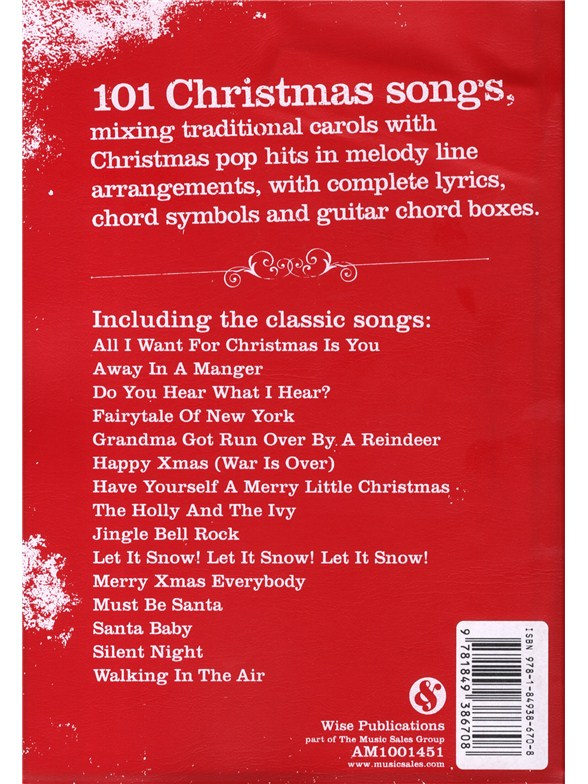 The Gig Songbook Christmas Songs Melody Line Lyrics Chords