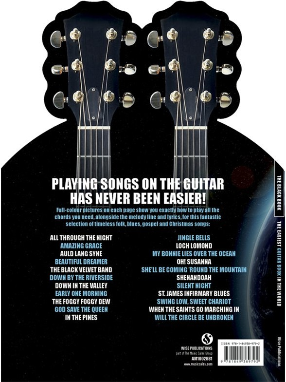 The Easiest Guitar Book In The World - The Black Book - Melody Line ...