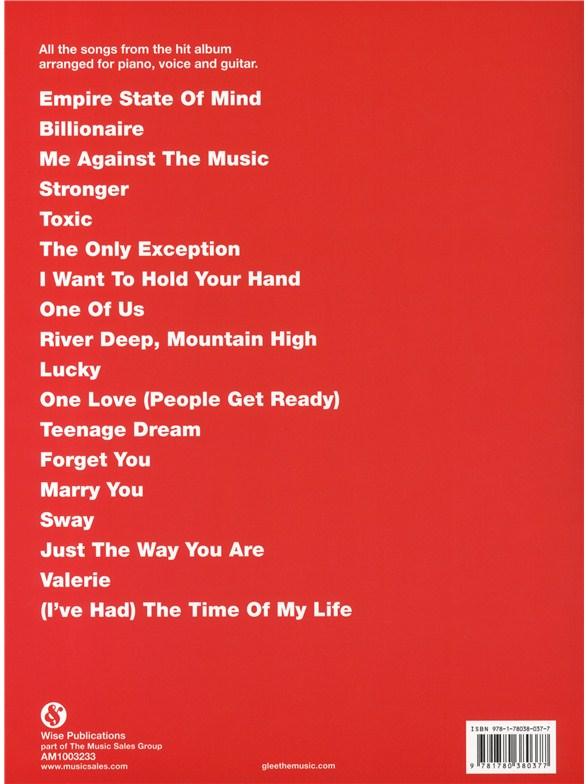 Glee Songbook Season 2 Volume 4 Piano Vocal Guitar Sheet