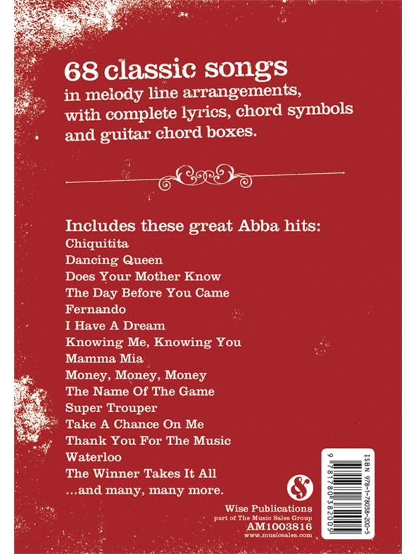 The gig book abba melody line lyrics chords sheet music the gig book abba melody line lyrics chords sheet music sheet music songbooks musicroom stopboris Choice Image