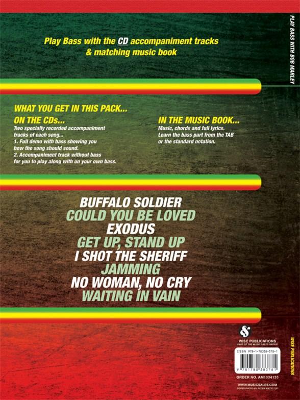 Play Bass With Bob Marley Bass Guitar Sheet Music Sheet Music