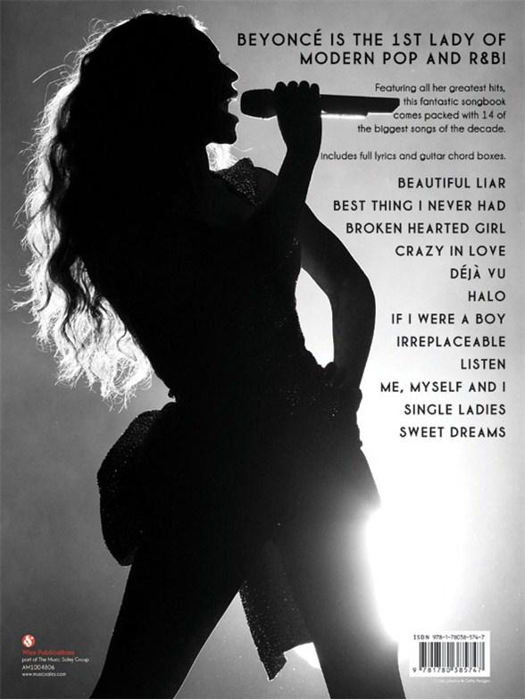 Best Of Beyonce Piano Vocal Guitar Sheet Music Sheet Music