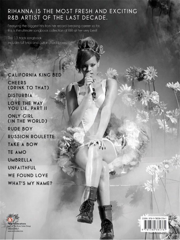 Best Of Rihanna Piano Vocal Guitar Sheet Music Sheet Music